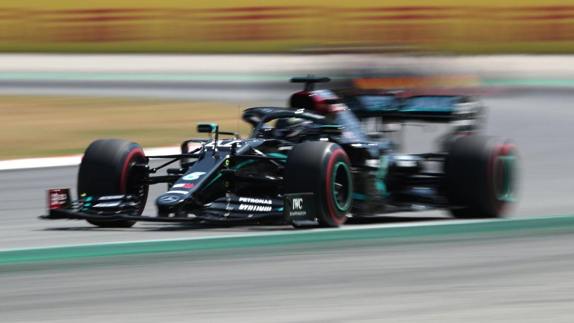 Belçika'da pole pozisyonu pist rekoruyla Lewis Hamilton'un