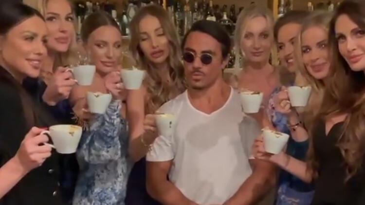 Nusret'in Dubai'de çektiği kahve videosu olay oldu!