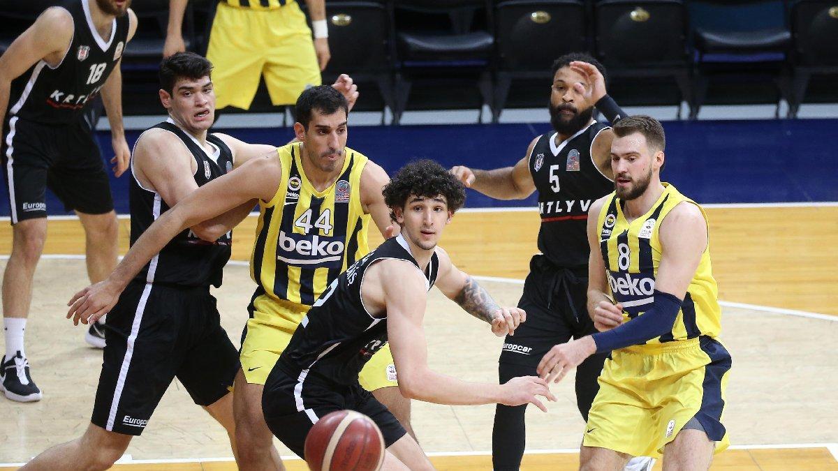 Pota derbisinde kazanan Beşiktaş | Fenerbahçe Beko 83-92 Beşiktaş