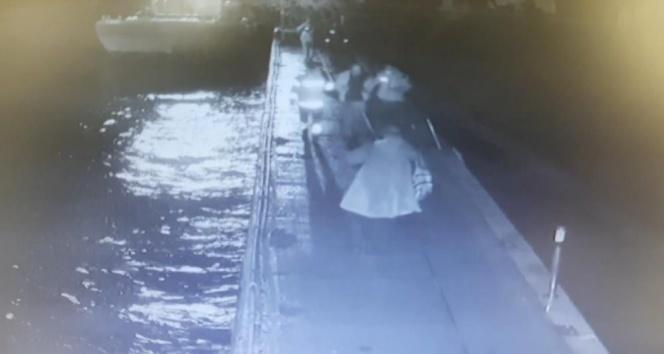 'Sefirin Kızı' dizi ekibi denize düşen 2 kişiyi kurtardı