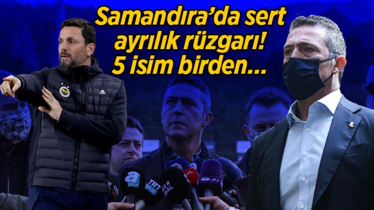 Son Dakika | Başkan Ali Koç açıklamıştı! Fenerbahçe'de 5 ayrılık birden…