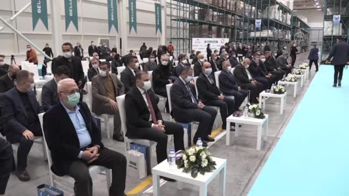 Son dakika haberi! TMSF bünyesindeki ilk sıfırdan yatırım olan Bellona Sandalye ve Yatak Fabrikası nın açılışı yapıldı