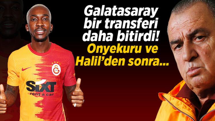 Son dakika transfer haberleri: Galatasaray, Onyekuru ve Halil Dervişoğlu'nun ardından bir transferi daha bitirdi!