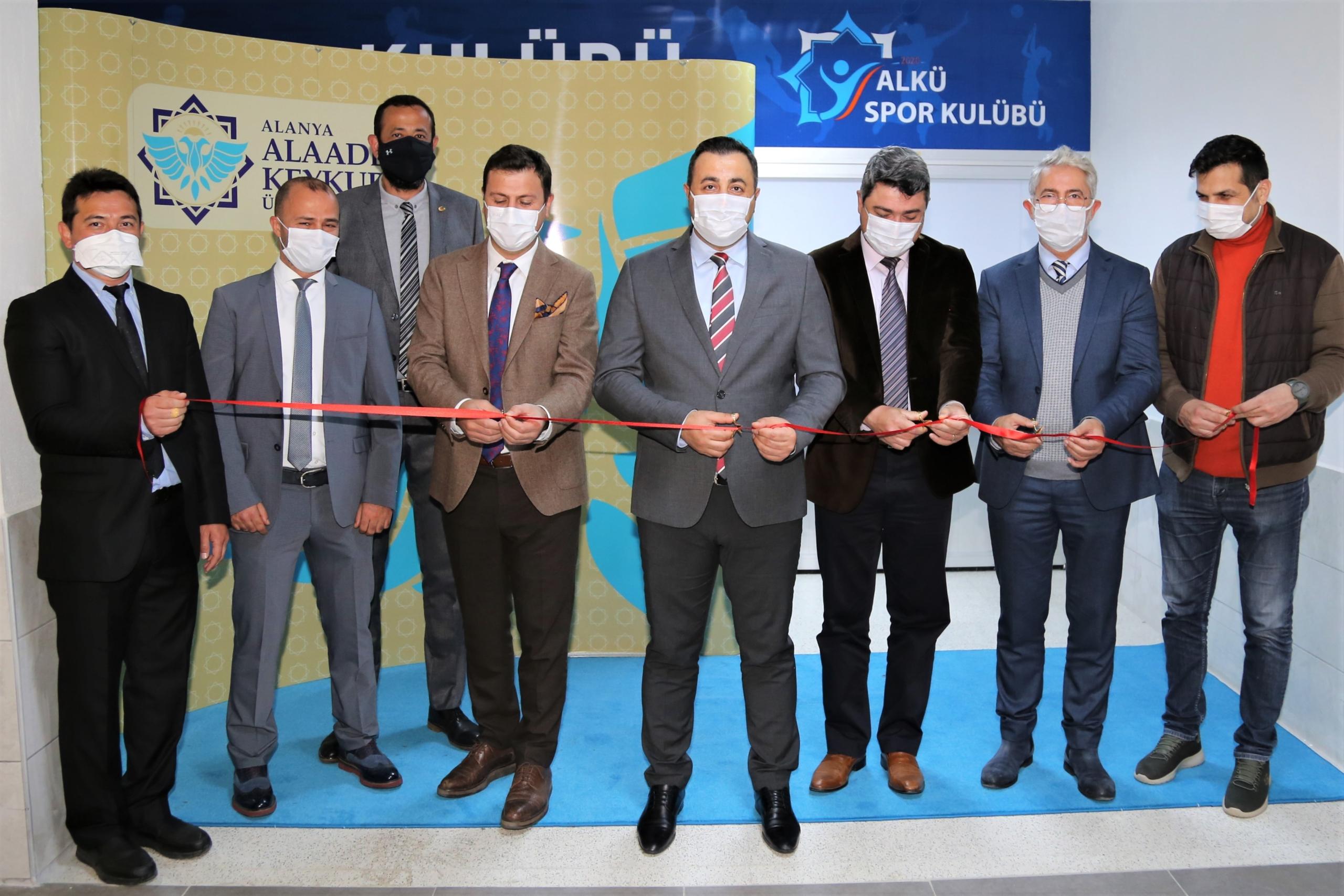 ALKÜ Spor Kulübü Merkezi açıldı