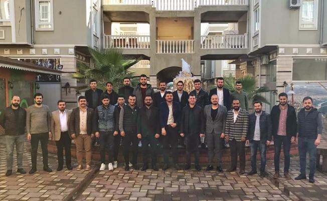 AK Gençlik mahalle başkanları ile buluştu.