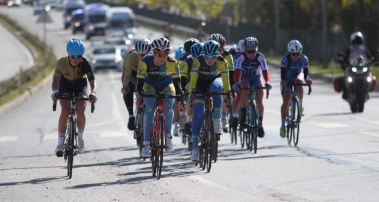 Alanya'da 120 sporcu pedal çevirdi