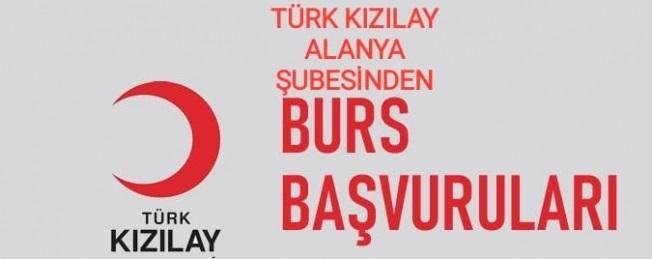 Alanya Kızılay'dan öğrencilere burs desteği!