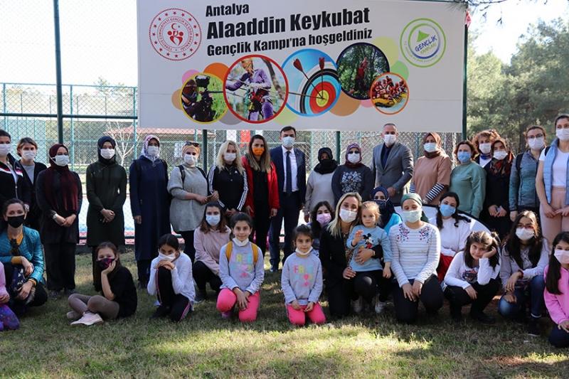 Emniyet Çalışanları Alaaddin Keykubat Gençlik Kampı'nda moral buldular