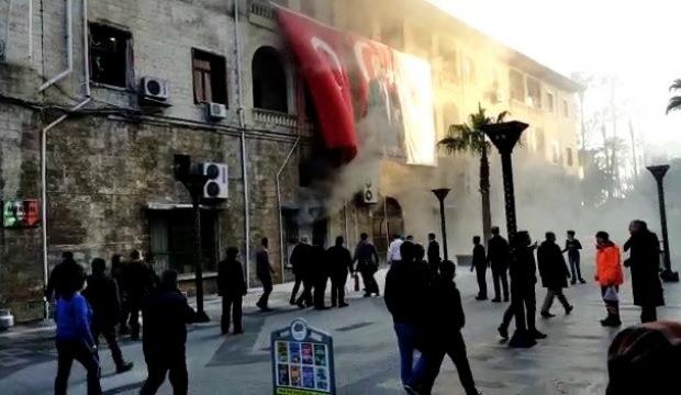 Mersin Büyükşehir Belediyesinde patlama