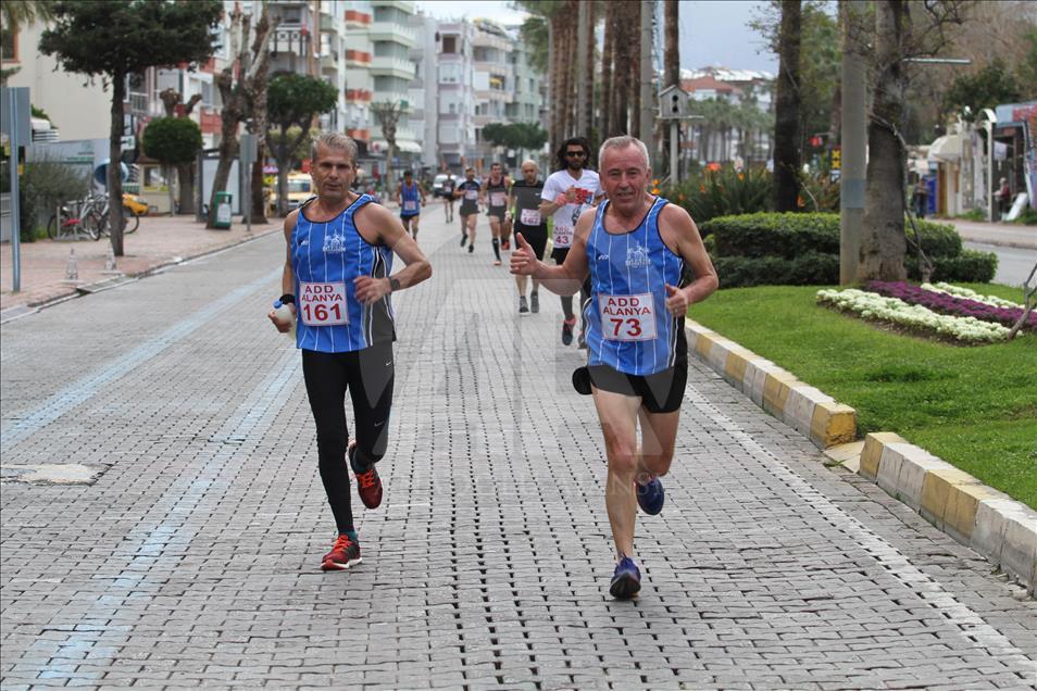 21. Alanya Atatürk Halk koşusu için geri sayım başladı.