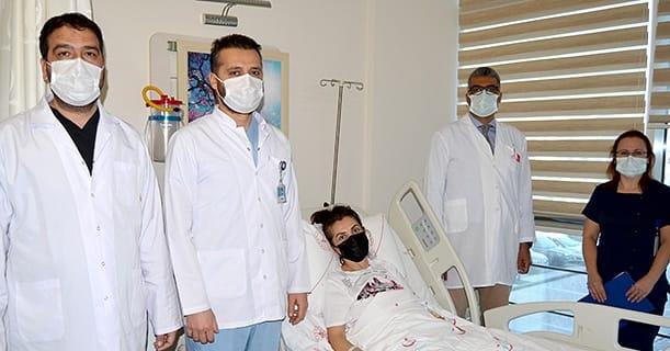 ALKÜ Hastanesi yine bir ilke imza attı.