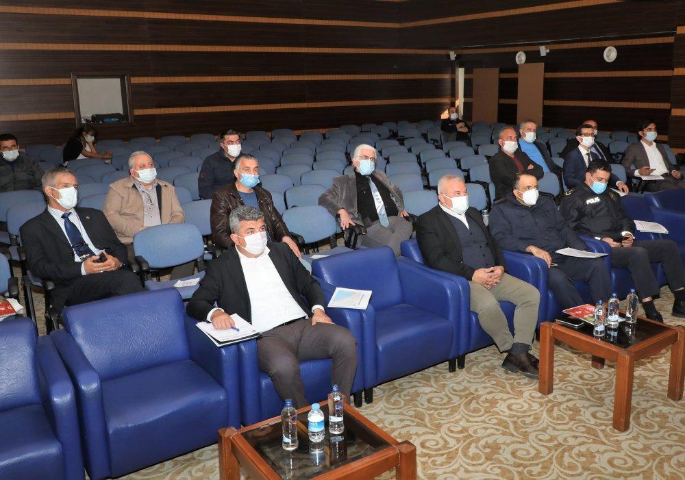 Atatürk Koşusu'nun koordinasyon toplantısı Kaymakam Dr. Fatih Ürkmezer başkanlığı'nda gerçekleştirildi
