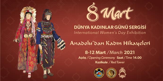 Alanya Belediyesi fethin 800. yılına özel 8 Mart sergisi açıyor.