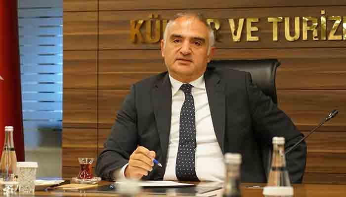 Antalyalı turizmciler Bakan Ersoy'a taleplerini bildirdi