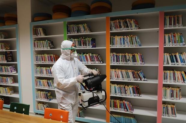 Alanya Belediyesi, 1 yılda 7 bin 81 noktada dezenfekte hizmeti verdi