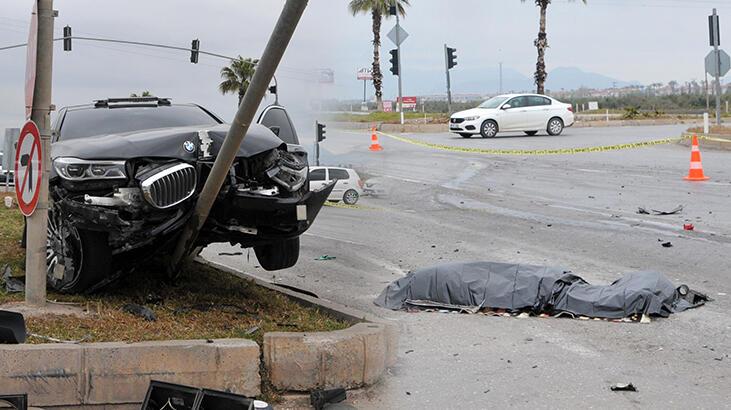 İş adamı Bilal Kadayıfçıoğlu'nun karıştığı kazada 1 kişi öldü, 5 kişi yaralandı