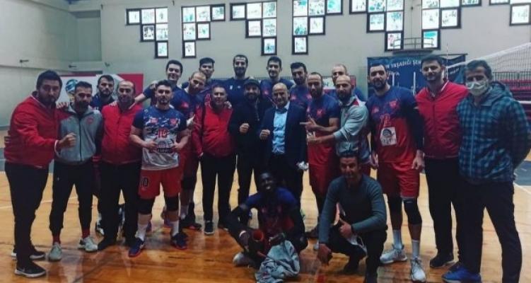 Alanya Belediyespor Kayseri'den galip döndü