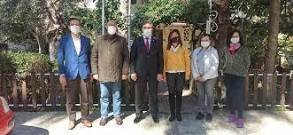 Alanya İlçe Milli Eğitim Müdürü Yılmaz ALTİD'i ziyaret etti