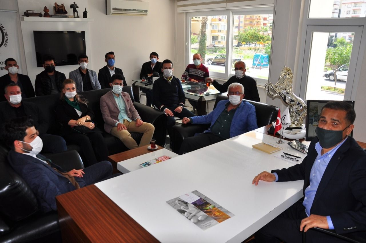 Gelecek Partisi Alanya İlçe Başkanlığından Mahmutlar çıkarması