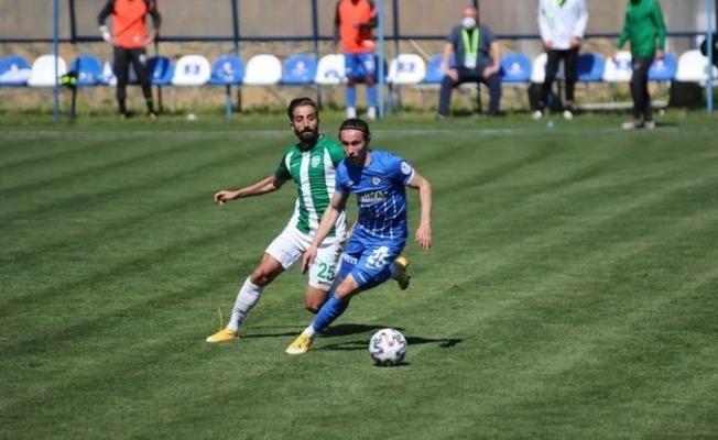 Kestelspor Sultanbeyli Belediyespor'a 2-1 mağlup oldu