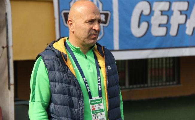 Kestelspor'un teknik direktörü Galip Gündoğdu oldu