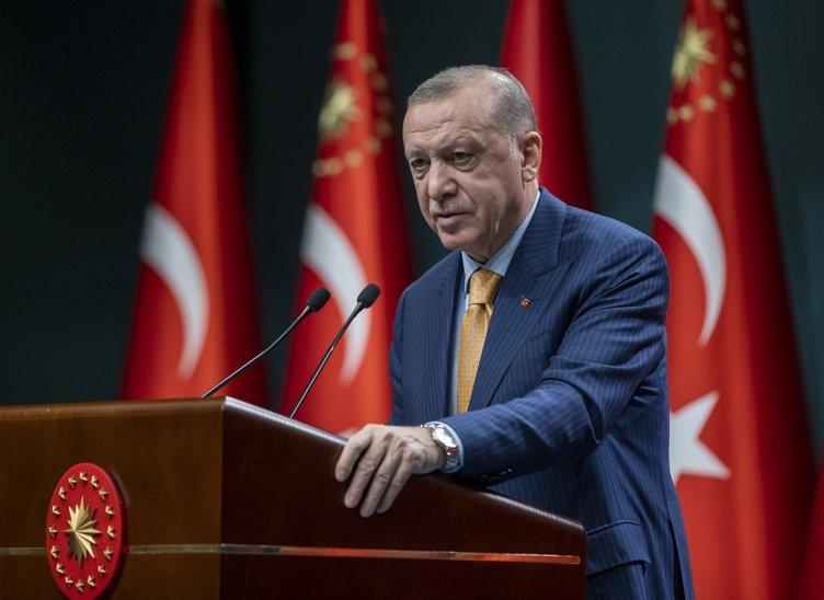 Cumhurbaşkanı Erdoğan, Pazartesi'den itibaren kontrollü normalleşme takviminin uygulanacağını açıkladı