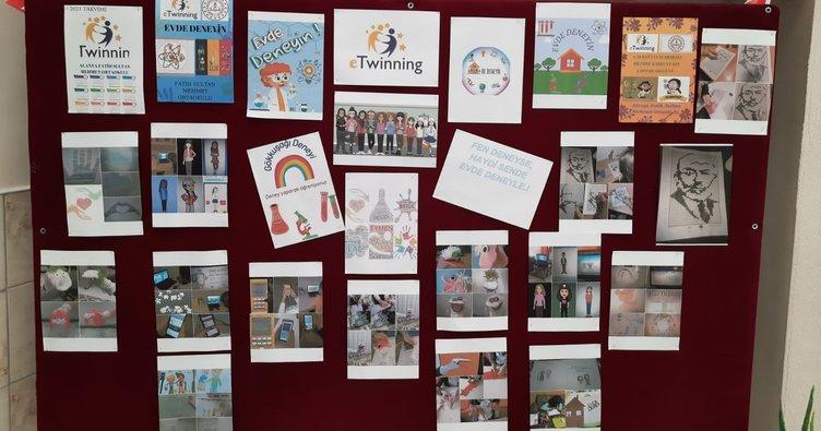 Alanya'da öğrenciler Online katılım ile laboratuvar etkinliği gerçekleştirdiler