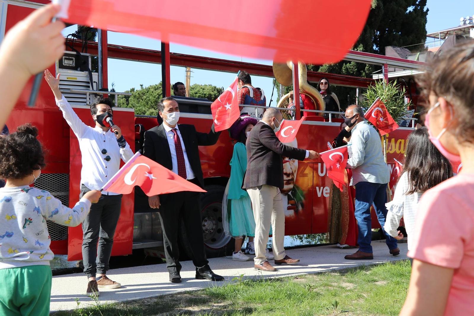 Alanya ve Gazipaşa'da 23 Nisan coşkusu!