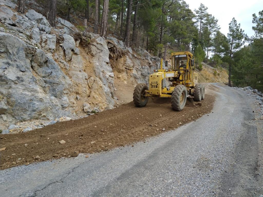 Büyükşehir'in kırsal alan çalışmaları hız kesmeden devam ediyor