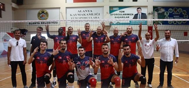 Alanya Belediyespor Efeler Ligi için iddialı