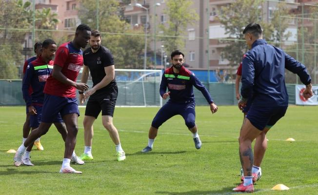 Alanyaspor Gaziantep maçı hazırlıklarına devam ediyor