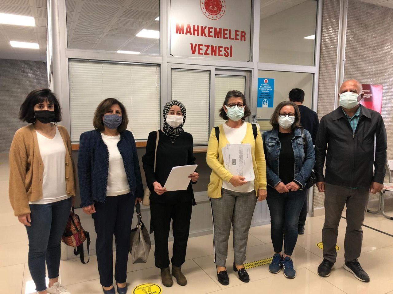 kadın haklarını koruma derneği alanya şubesi,  istanbul sözleşmesinin feshi konusunda yürütmenin durdurulması istemi ile Danıştay'a dava açtı