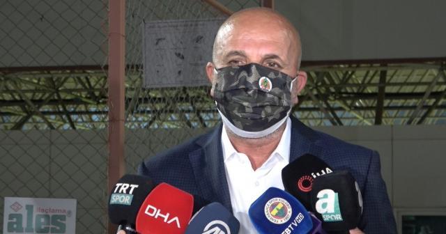 """Aytemiz Alanyaspor Başkanı Hasan Çavuşoğlu: """"UEFA Kupası hedefimiz var"""" ifadelerini kullandı"""