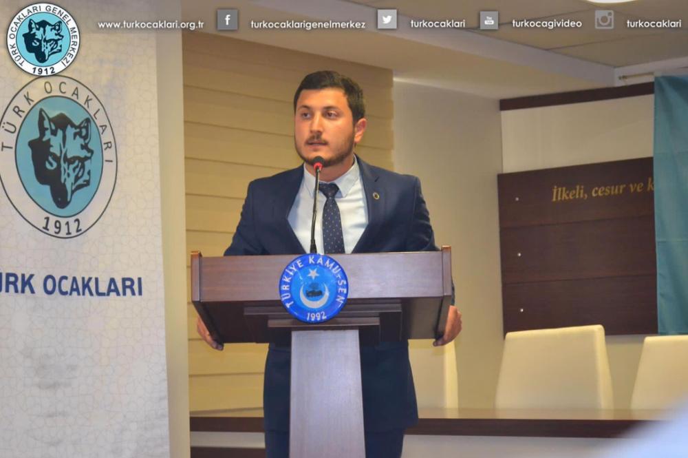 Türk Ocakları Gençlik Kolları'nda Hüseyin Çelik Dönemi başlıyor