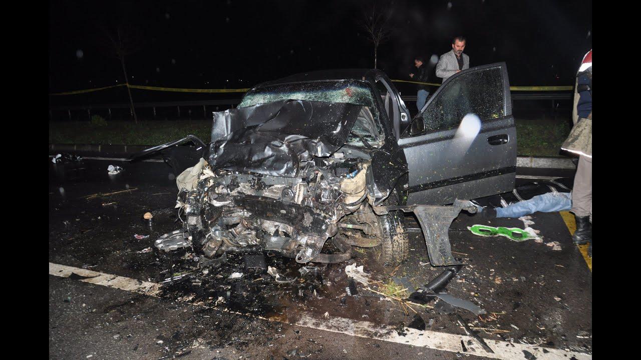 Antalya'da feci kaza! 1 kişi hayatını kaybetti, 4 yaralı