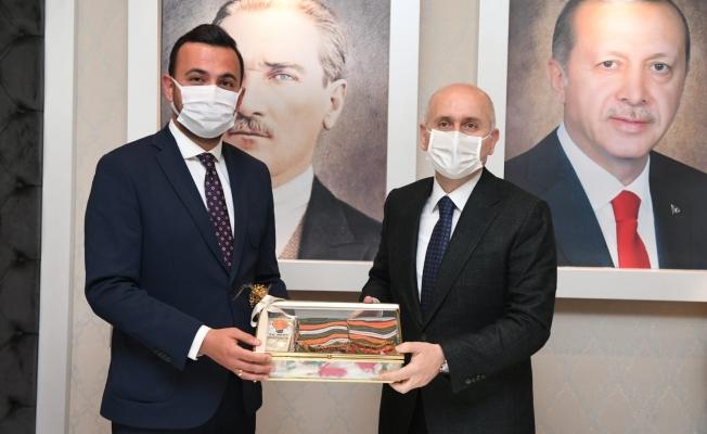 Ak Parti İlçe Başkanı Mustafa Toklu, Bakan Karaismailoğlu'ndan Alanya-Konya yolu için  talepte bulundu