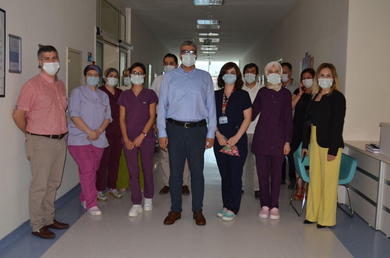 Başhekim Lakadamyalı sağlık çalışanlarıyla bir araya geldi
