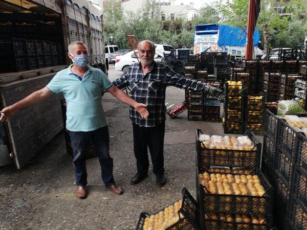 ALTSO Başkanı Mehmet Şahin Hal Esnafını Ziyaret Etti