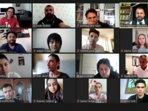 ALKÜ'de turizm animasyonu çevrimiçi konuşuldu