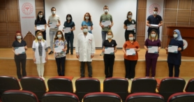 ALKÜ Alanya EAH'de hemşirelere online eğitim verildi