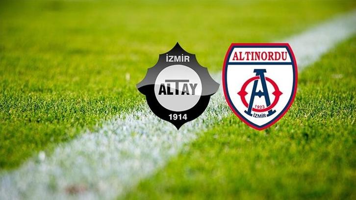 TFF 1. Lig Play-Off finalinde Altınordu'yu 1-0 yenen Altay, Süper Lig'e yükselen son takım oldu