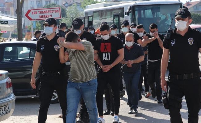 14 sahte bankacı tutuklandı…
