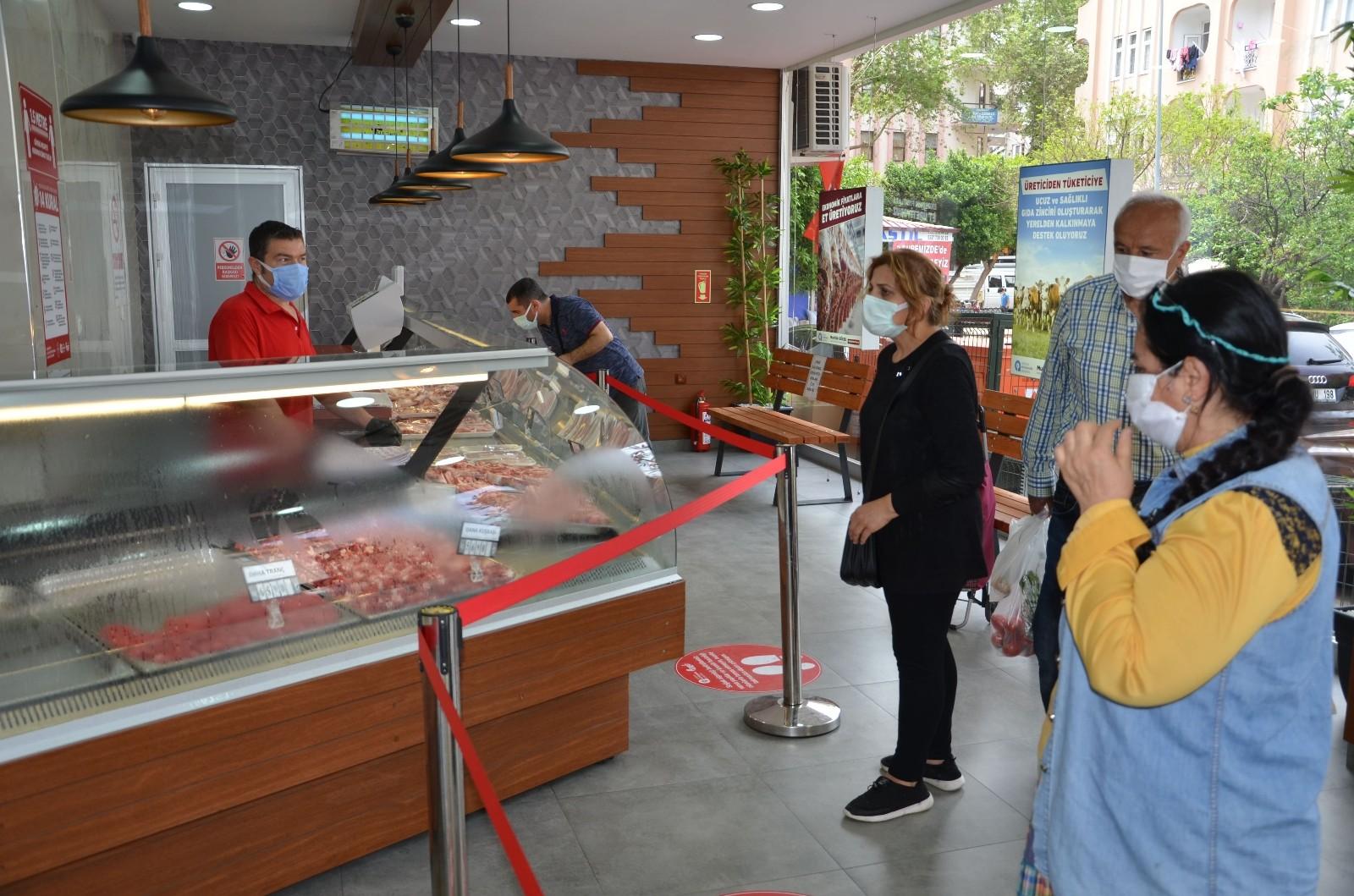 Alanya Halk Et Satış Mağazasında 1 yılda 63 bin kg et ürünü satıldı
