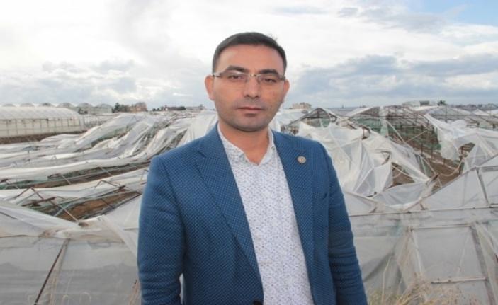 Alanya Ziraat Odası Başkanı Göktepe üreticilere fırtına uyarısında bulundu
