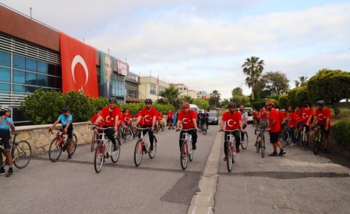 Alanya'da başkanlar gençlerle şehir turu attı