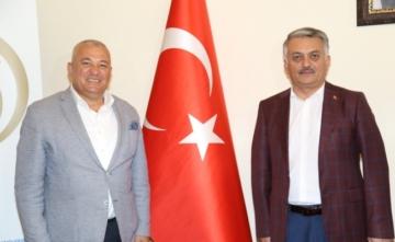 Alanya'da pazar yerleri ALTSO Başkanı Mehmet Şahin'in girişimleriyle açılıyor