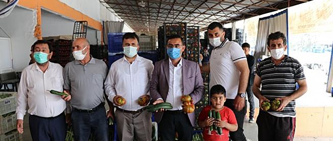 Alanya Ziraat Odası Başkanı Tahir Göktepe Alanya'da semt pazarları açılsın talebinde bulundu