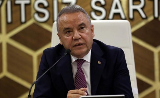 Başkan Böcek, Mescid-i Aksa'da yaşanan olayları kınayan bir mesaj yayınladı