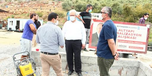 Antalya Büyükşehir Belediyesi Gazipaşa Sanayi Sitesi'nin kanalizasyon sıkıntısı için düğmeye bastı