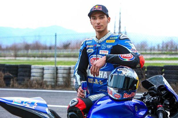 Toprak Razgatlıoğlu Dünya Superbike Şampiyonasında İtalya'da podyuma çıktı